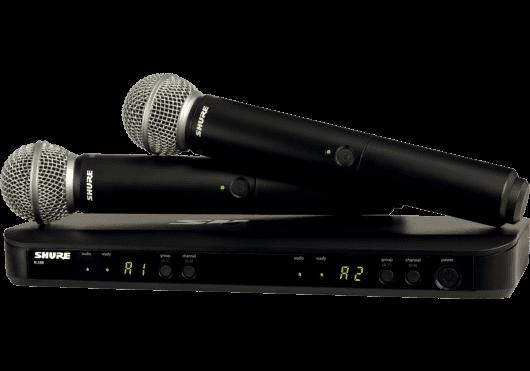 Audio - SYSTEMES HF - BLX - Shure - SSP BLX288E-SM58-M17 - Royez Musik