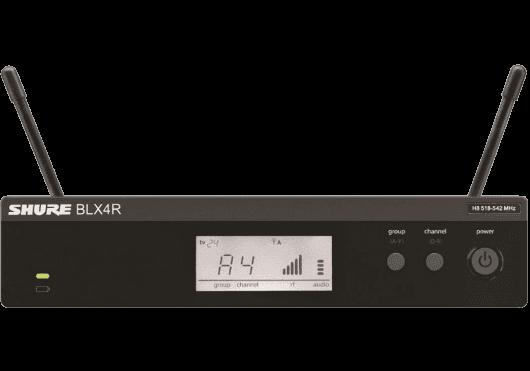 Audio - SYSTEMES HF - BLX - Shure - SSP BLX4RE-M17 - Royez Musik