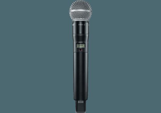 Audio - SYSTEMES HF - Shure - SSR ADX2FD-SM58-G56 - Royez Musik