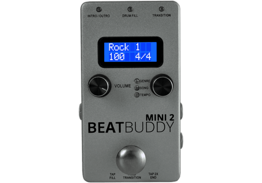 Amplis effets - BOÎTES À RYTHMES - Singular Sound - MSG BEATBUDDY-MINI2 - Royez Musik