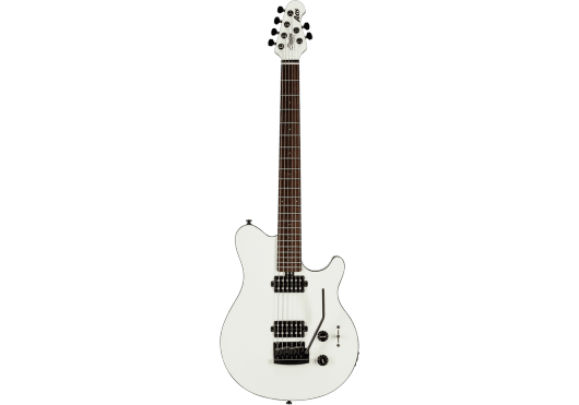 Guitares & Co - GUITARES ELECTRIQUES - GUITARES SOLID BODY - STERLING BY MUSIC MAN - GSU AX3S-WH-R1 - Royez Musik