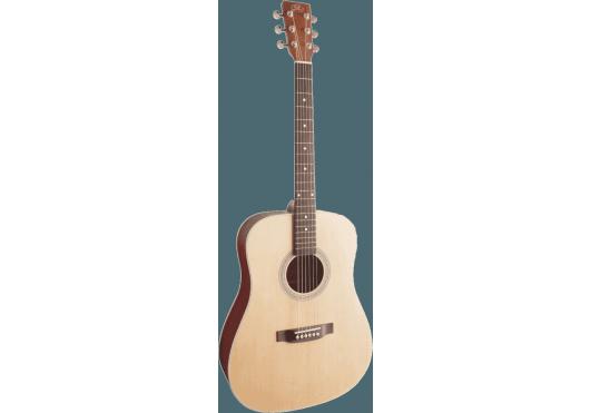 Guitares & Co - GUITARES ACOUSTIQUES - 6 CORDES - SX - GSX SD204 - Royez Musik