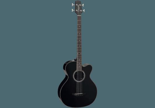 Guitares & Co - GUITARES BASSES - BASSES ACOUSTIQUES - Takamine - GTA GB30CEBLK - Royez Musik