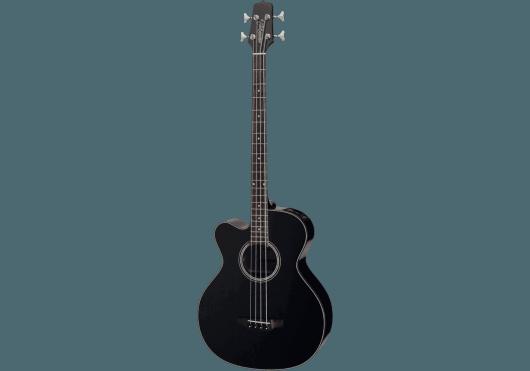 Guitares & Co - GUITARES BASSES - BASSES ACOUSTIQUES - Takamine - GTA GB30CEBLKLH - Royez Musik