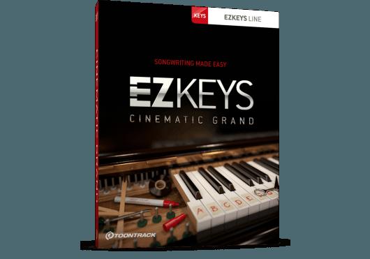 Logiciels - EZ KEYS - LOGICIEL - Toontrack - OTO CINEMATICGRAND-SN - Royez Musik