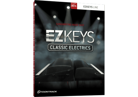 Logiciels - EZ KEYS - LOGICIEL - Toontrack - OTO CLASSICELEC - Royez Musik
