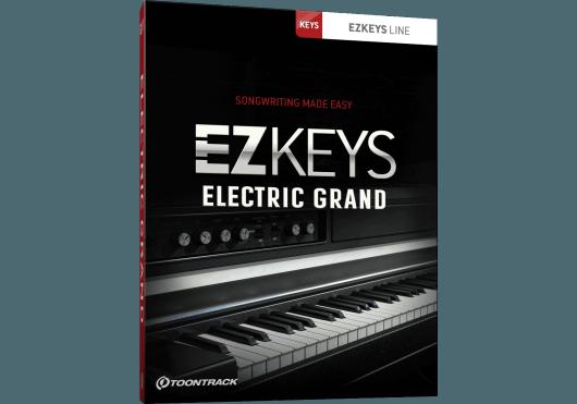 Logiciels - EZ KEYS - LOGICIEL - Toontrack - OTO ELECGRAND - Royez Musik