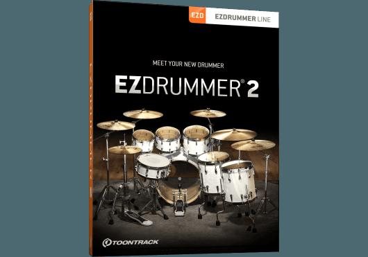 Logiciels - EZ DRUMMER - LOGICIEL - Toontrack - OTO EZDRUMMER2 - Royez Musik