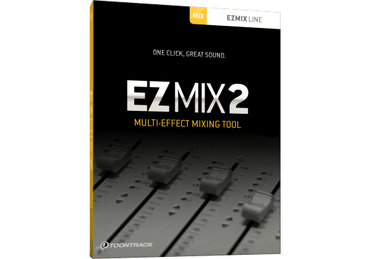 Logiciels - EZ MIX - LOGICIEL - Toontrack - OTO EZMIX2 - Royez Musik