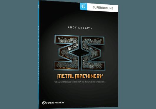 Logiciels - SUPERIOR DRUMMER - EXTENSIONS - Toontrack - OTO METALMACHINERYSDX - Royez Musik