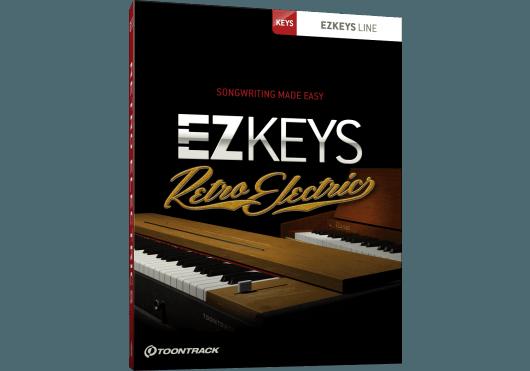 Logiciels - EZ KEYS - LOGICIEL - Toontrack - OTO RETROELEC - Royez Musik