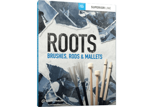 Logiciels - SUPERIOR DRUMMER - EXTENSIONS - Toontrack - OTO ROOTSBRUSHES - Royez Musik