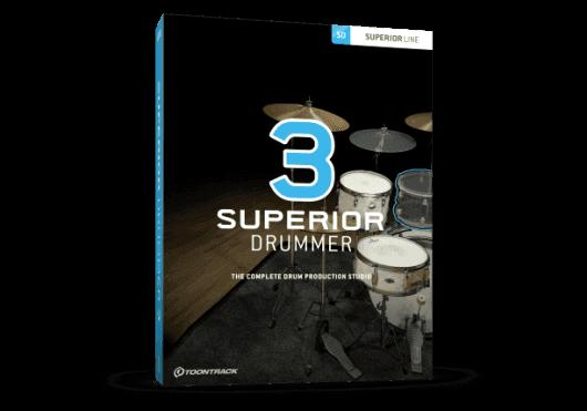 Logiciels - SUPERIOR DRUMMER - LOGICIEL - Toontrack - OTO SD3-SERIAL - Royez Musik