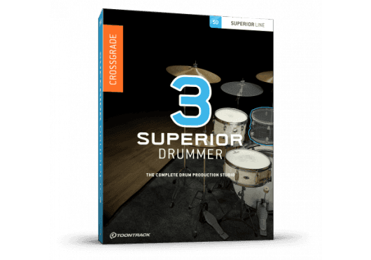 Logiciels - SUPERIOR DRUMMER - MISES A JOUR - Toontrack - OTO SD3EZD2CG-SERIAL - Royez Musik