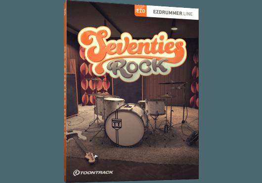 Logiciels - EZ DRUMMER - EXTENSIONS - Toontrack - OTO SEVENTIESROCKEZX - Royez Musik