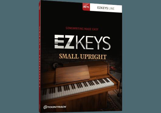 Logiciels - EZ KEYS - LOGICIEL - Toontrack - OTO SMALLUPRIGHT - Royez Musik