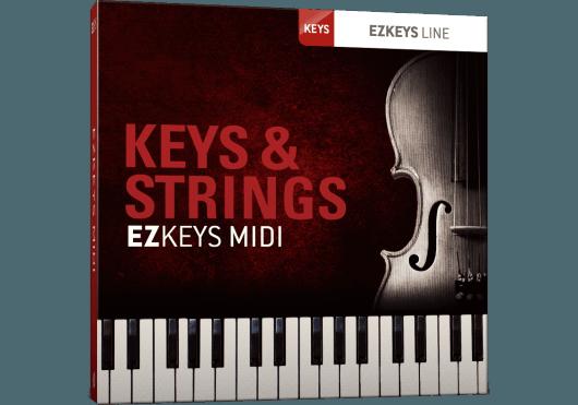 Logiciels - EZ KEYS - PACKS MIDI - Toontrack - OTO TT297 - Royez Musik