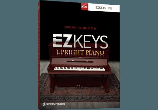 Logiciels - EZ KEYS - LOGICIEL - Toontrack - OTO UPRIGHTPNO - Royez Musik