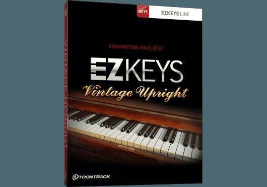Logiciels - EZ KEYS - LOGICIEL - Toontrack - OTO VINTAGEUPRIGHT - Royez Musik