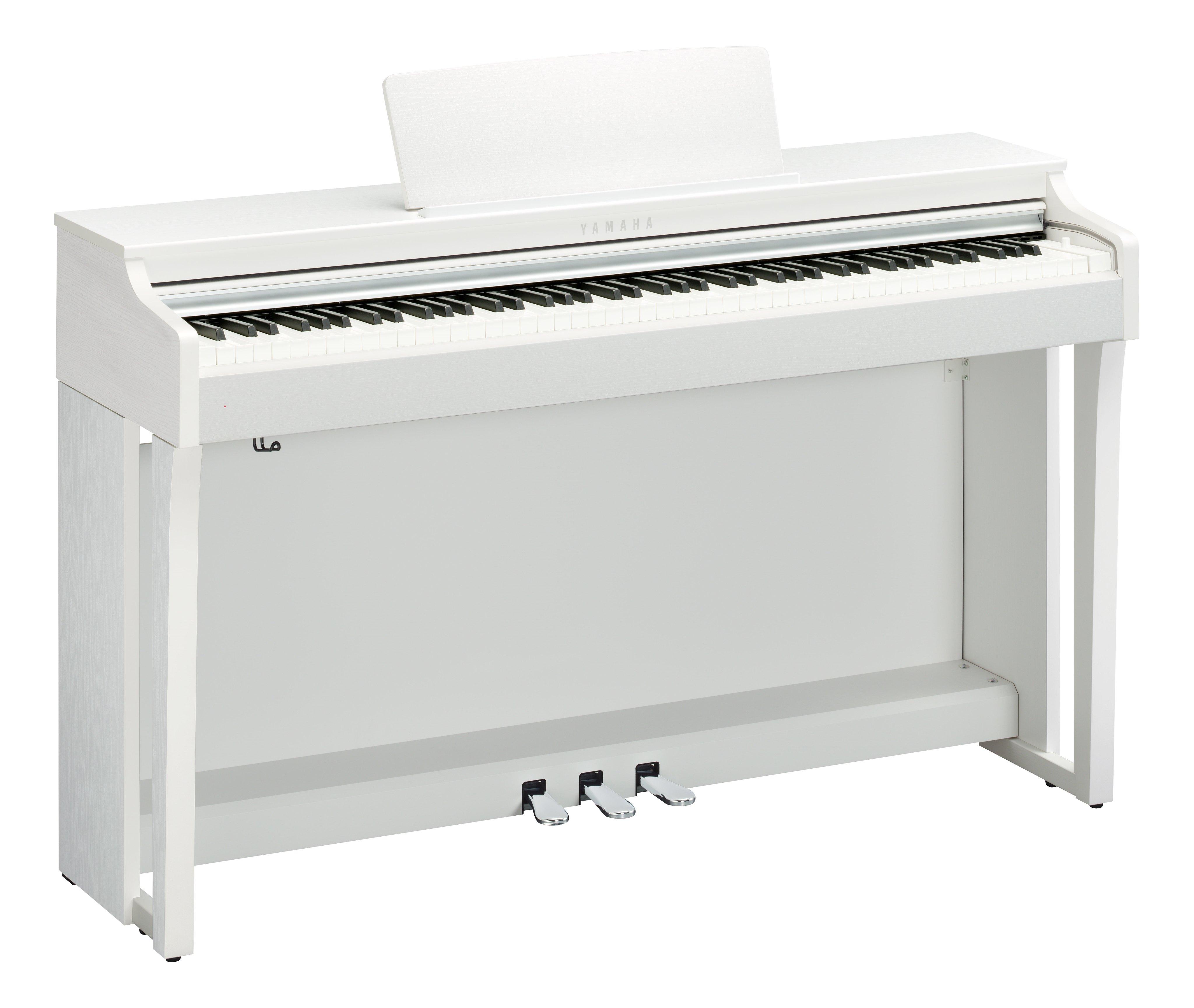 Claviers & Pianos - PIANOS NUMERIQUES - MEUBLE - YAMAHA - CLP-725WH - Royez Musik