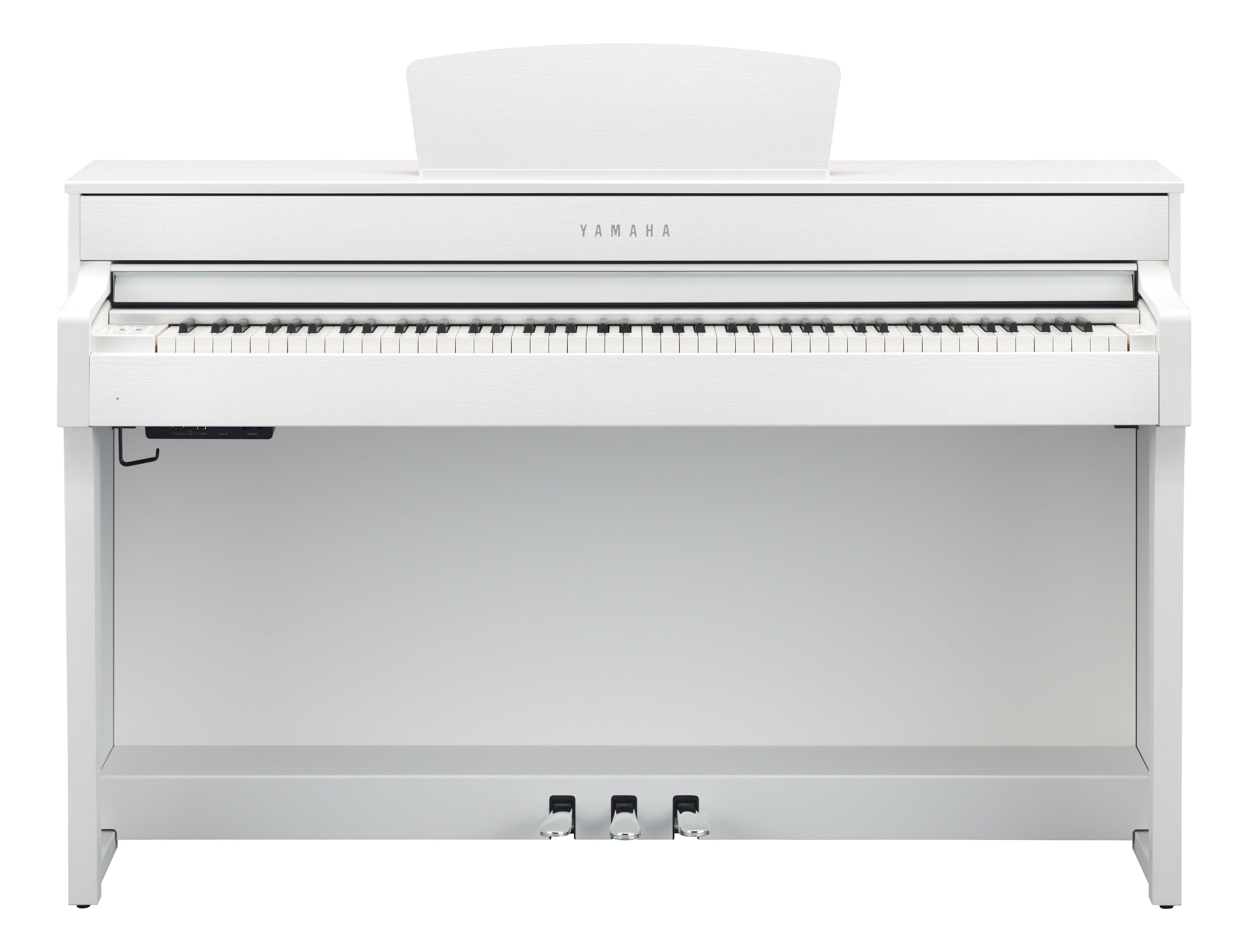 Claviers & Pianos - PIANOS NUMERIQUES - MEUBLE - YAMAHA - CLP-635WH - Royez Musik