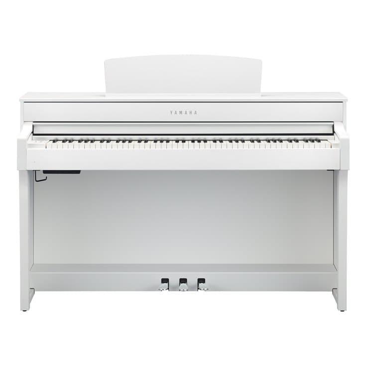Claviers & Pianos - PIANOS NUMERIQUES - MEUBLE - YAMAHA - CLP-745WH - Royez Musik