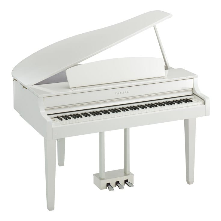 Claviers & Pianos - PIANOS NUMERIQUES - MEUBLE - YAMAHA - CLP-665GPWH - Royez Musik