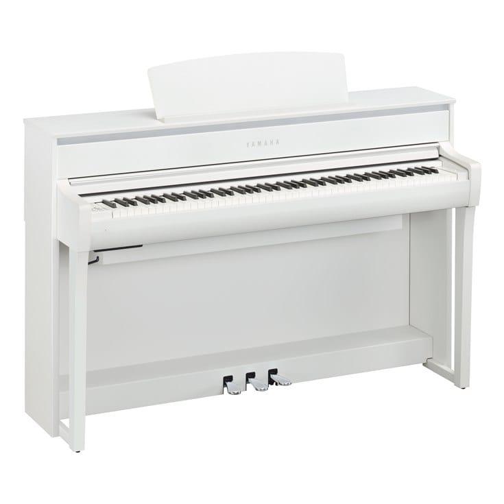 Claviers & Pianos - PIANOS NUMERIQUES - MEUBLE - YAMAHA - CLP-775WH - Royez Musik