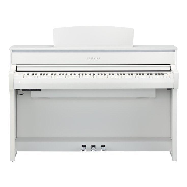 Claviers & Pianos - PIANOS NUMERIQUES - MEUBLE - YAMAHA - CLP-675WH - Royez Musik