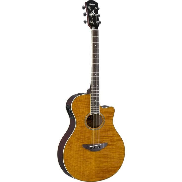 Guitares & co - GUITARES ACOUSTIQUES - 6 CORDES - YAMAHA - GAPX600FMTBS - Royez Musik