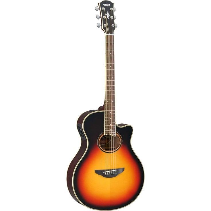 Guitares & co - GUITARES ACOUSTIQUES - 6 CORDES - YAMAHA - GAPX700IISB - Royez Musik