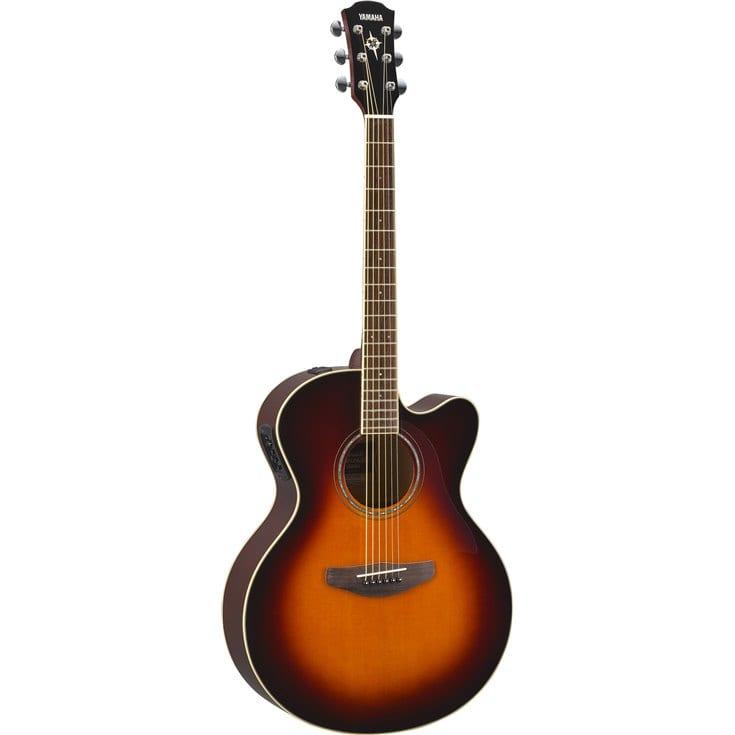 Guitares & co - GUITARES ACOUSTIQUES - 6 CORDES - YAMAHA - GCPX600RTB - Royez Musik