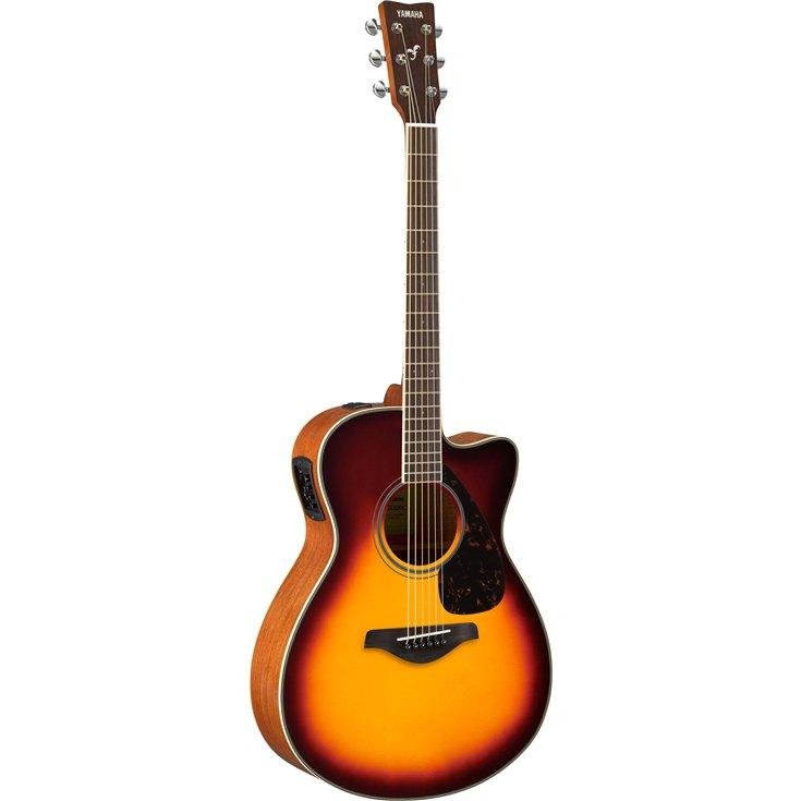 Guitares & co - GUITARES ACOUSTIQUES - 6 CORDES - YAMAHA - GFSX820CNT - Royez Musik