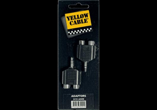Accessoires - CONNECTEURS - ADAPTATEURS - Yellow Cable - ECO AD09 - Royez Musik