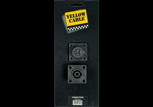 Accessoires - CONNECTEURS - FICHES & EMBASES - Yellow Cable - ECO SP-F - Royez Musik