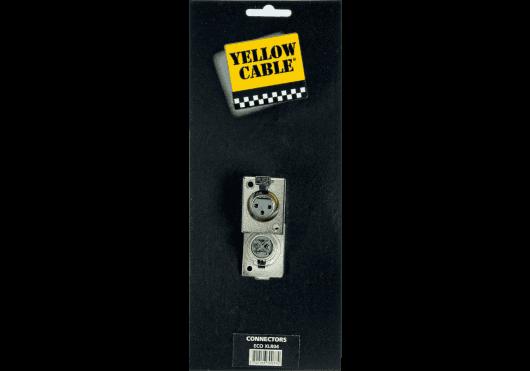 Accessoires - CONNECTEURS - FICHES & EMBASES - Yellow Cable - ECO XLR04 - Royez Musik