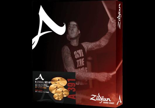 Batteries & Percussions - CYMBALES - PACKS DE CYMBALES - Zildjian - PZI A0391 - Royez Musik