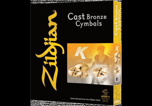 Batteries & Percussions - CYMBALES - PACKS DE CYMBALES - Zildjian - PZI K0800-I7 - Royez Musik