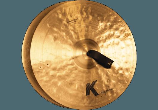 Batteries & Percussions - CYMBALES - CYMBALES ORCHESTRE - Zildjian - PZI K2102 - Royez Musik