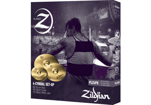 Batteries & Percussions - CYMBALES - PACKS DE CYMBALES - Zildjian - PZI PLZ4PK - Royez Musik